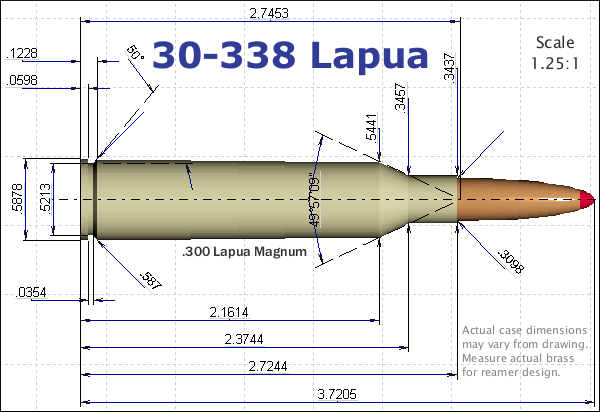 30-338 Lapua diagram
