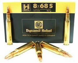 RWS 8x68 brass