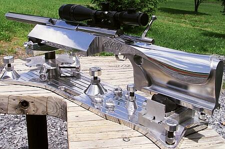 Baer heavy IBS gun stock aluminum