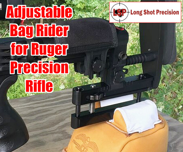 Ruger Precison Rifle RPR Adjustable Rear Bag Rider Bag-rider elevation stock
