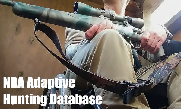 Adaptive Shooting NRA hunting fishing database outdoor adventure