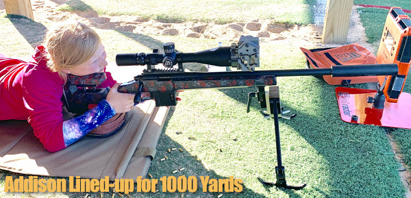 Paul Phillips Addison 9 year old girl ELR 1000 yards rimfire .22 LR Center-X Lapua Vudoo Lake City MI