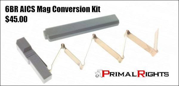 Primal rights PRS NRL magazine mag 6BR 6mmBr Norma 6 BRA Dasher BRX tactical short cartridge MDT