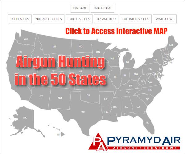 Pyramyd Air Hunting Map Game list permission