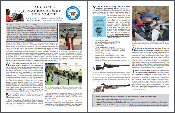 air rifle cmp yout training programs jrotc Civilian marksmanship