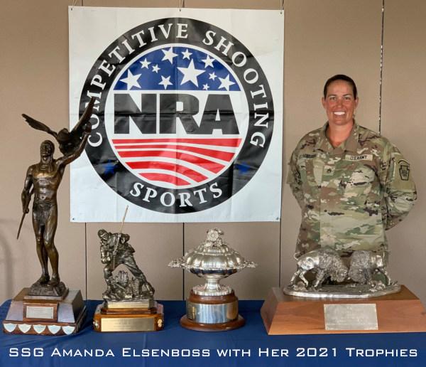 Amanda Elsenboss 2021 High Power Champion championship Camp atterbury service rifle National Guard USAMU