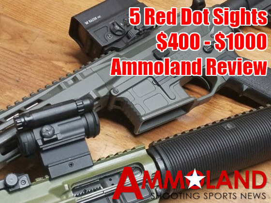 Ammoland Red Dot Review Aimpoint Trijicon