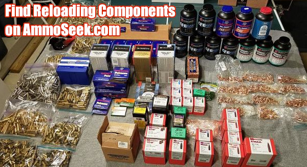 Ammoseek search engine ammunition reloading supplies