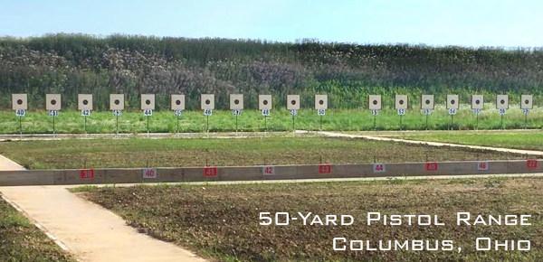 NRA slow fire pistol target 50 yards