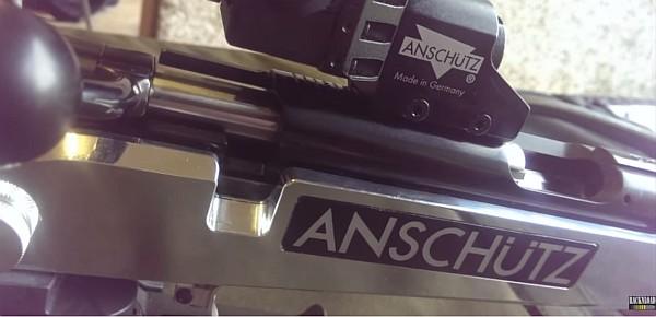 Anschutz 1913 1918 Aluminum precise stock