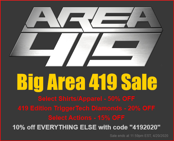 area 419 day 4/19 sale discount 20% 10%