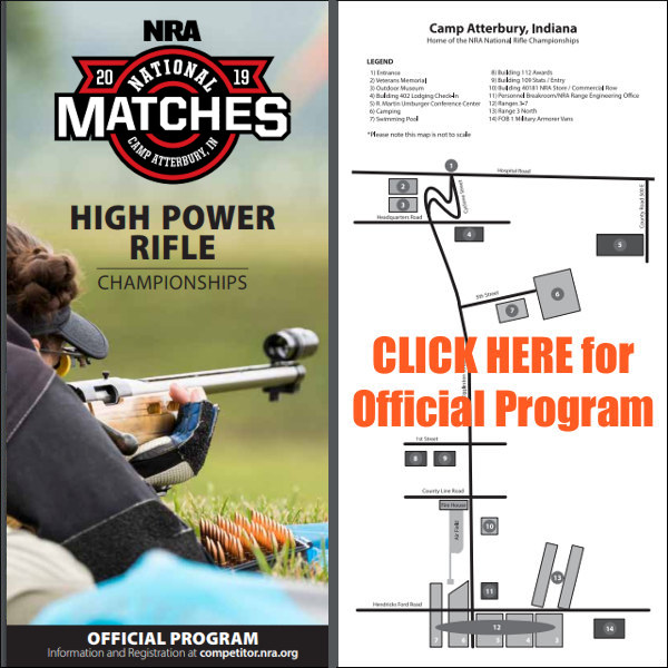 Camp Atterbury National NRA High Power championships 2019 program free