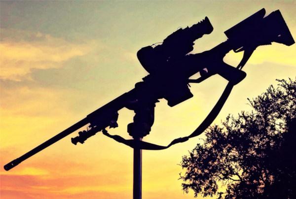 Savage Stealth 10 BA Rifle hog hunting