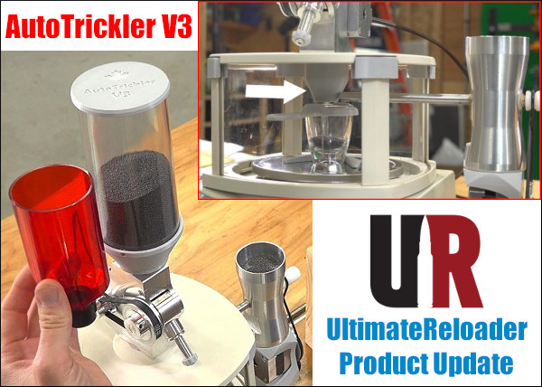 UltimateReloader Gavin Gear Powder dispenser Autotrickler v3 update report