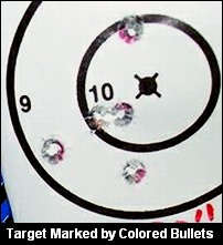 Bullet color