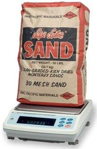Weight benchrest sand