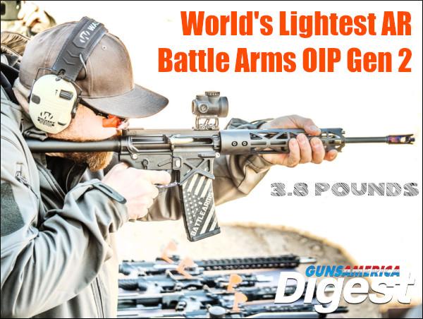 GunsAmerica Battle Arms Battlearms AR15 AR OIP Gen 2 light weight