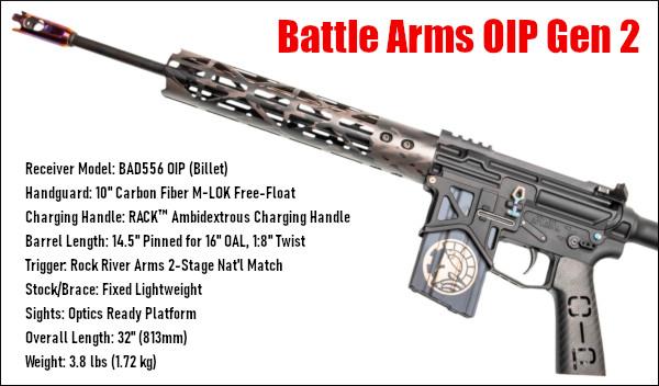 Battle Arms Battlearms AR15 AR OIP Gen 2 light weight