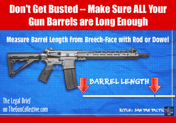 short barrel barreled rifle shotgun NSA tax stamp ATF legal brief guncollective.com