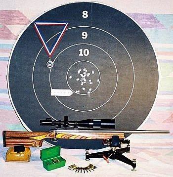1000 yard 6BRX target