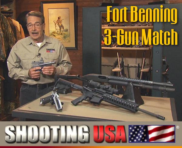Fort Benning Multi-gun 3-gun challenge
