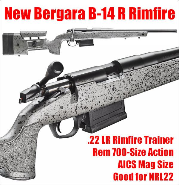 Bergara 22LR .22 lr rimfire NRL22 trainer