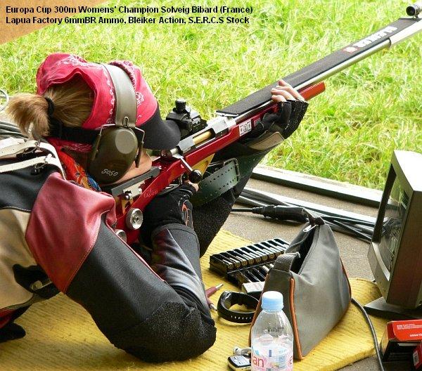 lapua factory 6mmbr ammo Solveig Bibard Europa Cup
