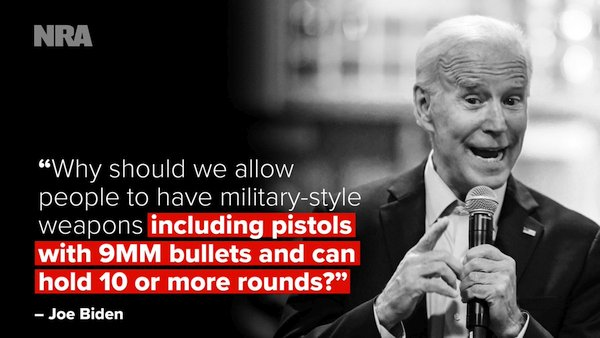 Joe Biden Beto O'Rourke gun control AR15 AR-15 second amendment