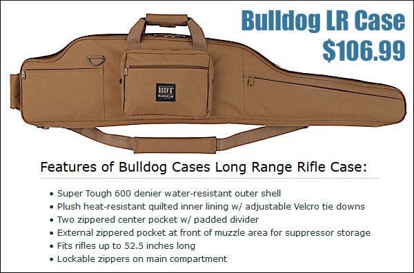 large rifle transport case nylon SKB Pelican Plano Bulldog