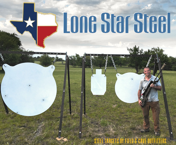 Travis frazier field cave outfitters texas ranch one mile steel ELR extreme long range giant gong