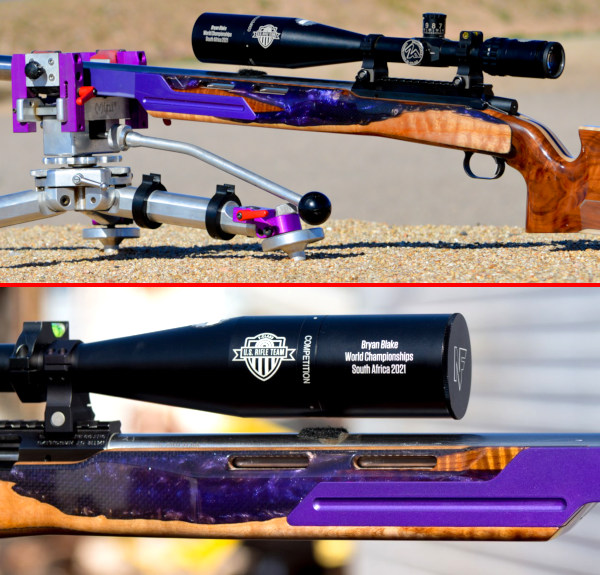 Brian Bowling F-Class F-0pen Open National Champion Brian Blake Barrel Blake Machine .284 Winchester Win RAHM rifle competition