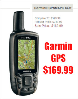 Garmin GPS Cabela's Sale Black Friday