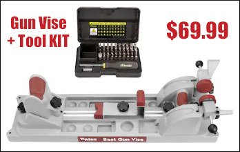 tipton best gun vise and wheeler tool kit