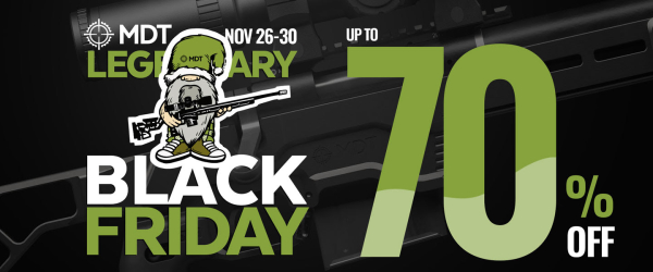 MDT Chassis black friday sale