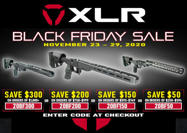 xlr industries tactical chassis PRS discount code