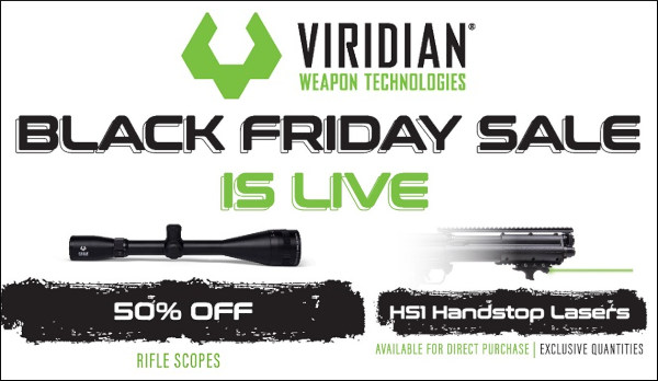 veridian riflescope scope front laser discount black friday