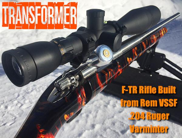 Brandon .223 Rem F-TR Pac-Nor PacNor Varmint Remington VSSF John Pierce Hydro-dip Hydrographics