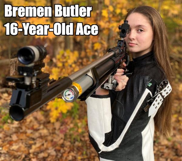 Bremen Butler Air Rifle junior Olympics Camp Perry