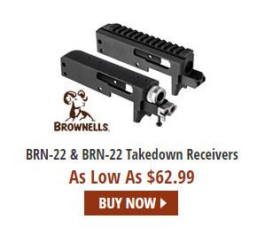 BRN BRN-22 rimfire receiver action .22 LR