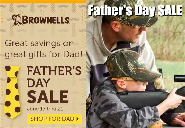 Brownells Father's day sale