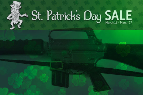 Brownells St. Patricks day sale discount