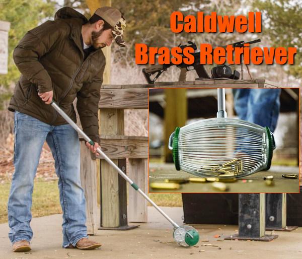 Caldwell pistol rifle cartridge brass rake retriever handle