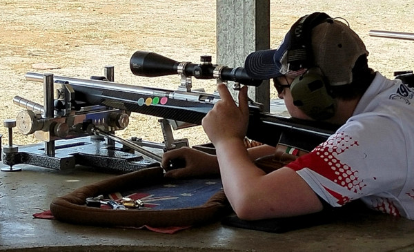 100 200 Benchrest group Australia Canberra Aussie brush fires Cameron teen Heavy gun winner