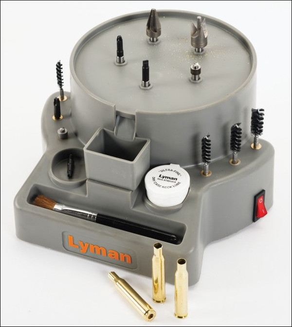 Lyman Case Prep Xpress express chamfer clean machine center review test video