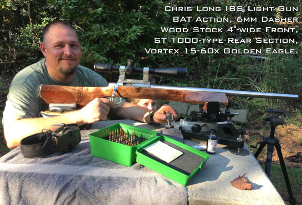 IBS Benchrest Chris Nichols Heavy Gun Record HG aggregate north carolina
