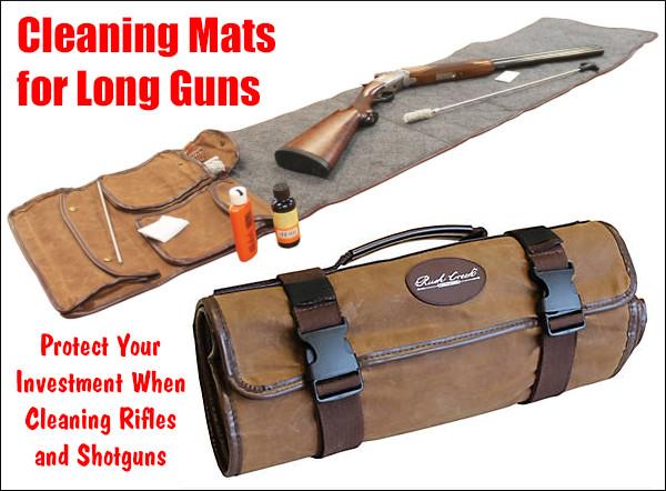 rifle shotgun cleaning mat pad rush creek DryMate Boyt Harness