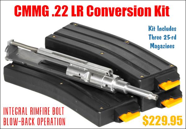 .22 LR 22LR rimfire AR AR15 AR-15 conversion kit bolt magazine savings ammo ammunition