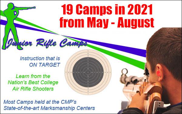CMP Summer training camp junior marksmanship air rifle smallbore