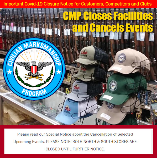 CMP Marksmanship close coronavirus