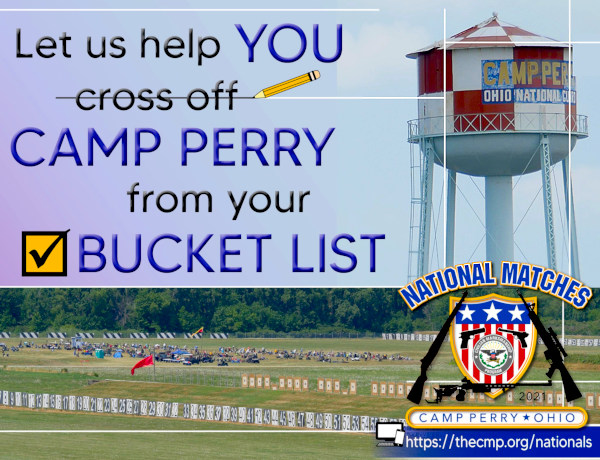 CMP Camp Perry National Matches Long Range Pistol Rifle Commercial Row History